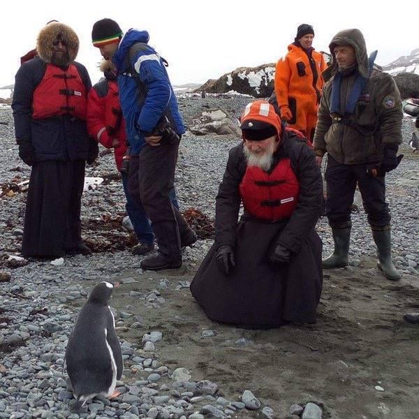 Після зустрічі з Папою Римським патріарх Кирил відвідав пінгвінів в Антарктиді (ФОТО)