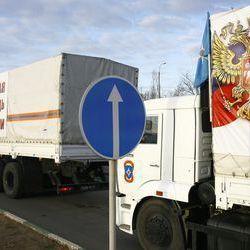 «Гумконвой» привіз бойовикам з Росії тухле м'ясо