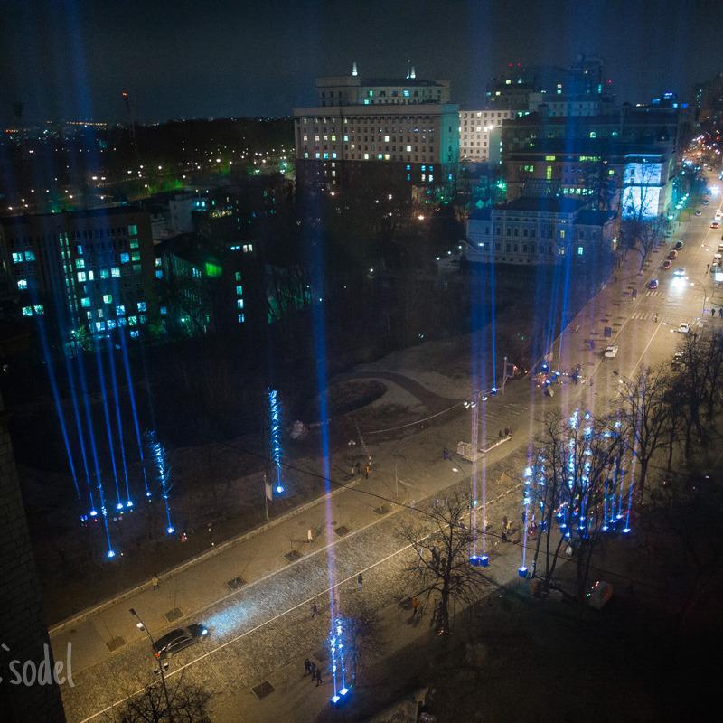 Промені Гідності осяяли місця, де загинули на Майдані люди (фоторепортаж)