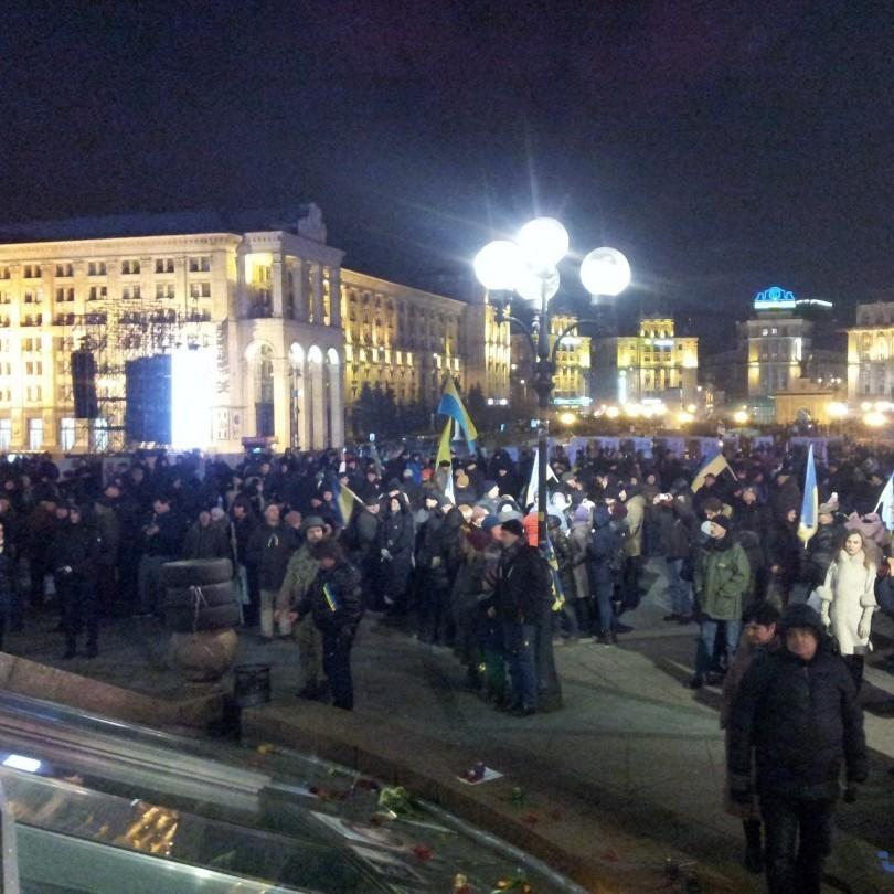 На Майдані встановлюють намети