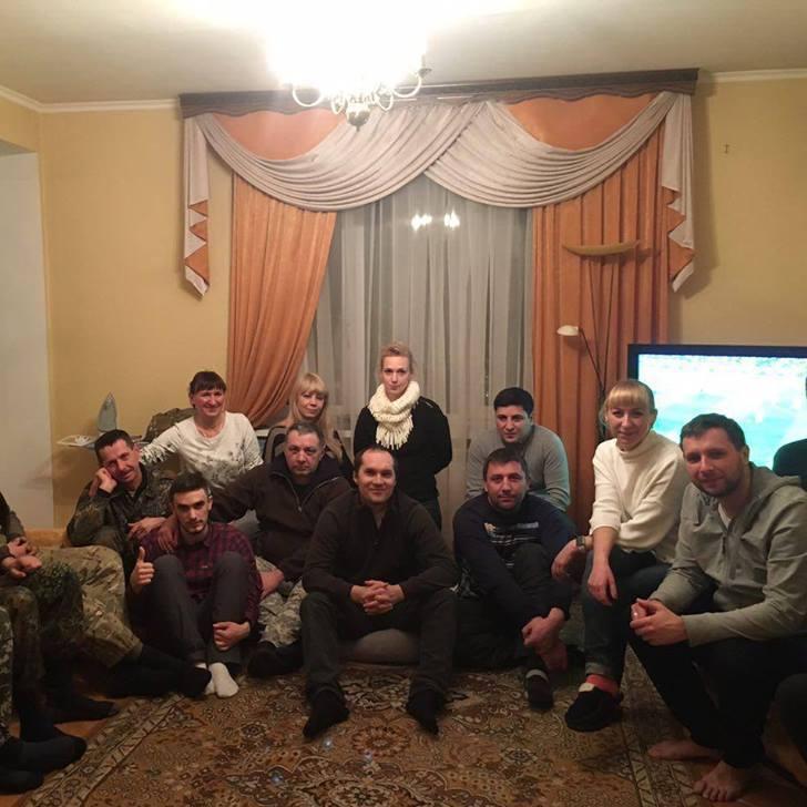 Парасюк показав гостей, які зібралися у нього вдома (фото)