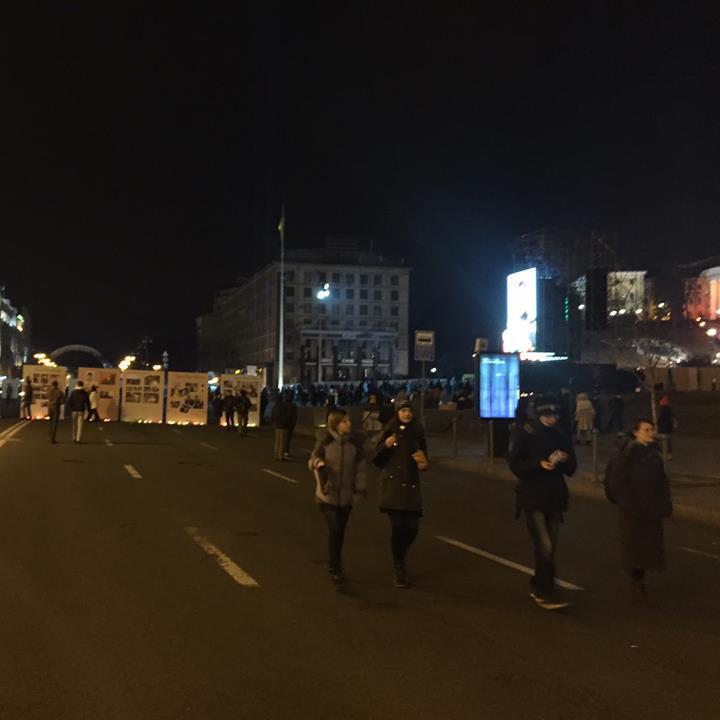 Співачка Руслана наголошує, що на Майдані все спокійно
