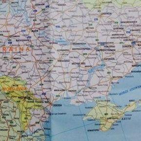 На карті у Польщі Крим зобразили частиною Росії