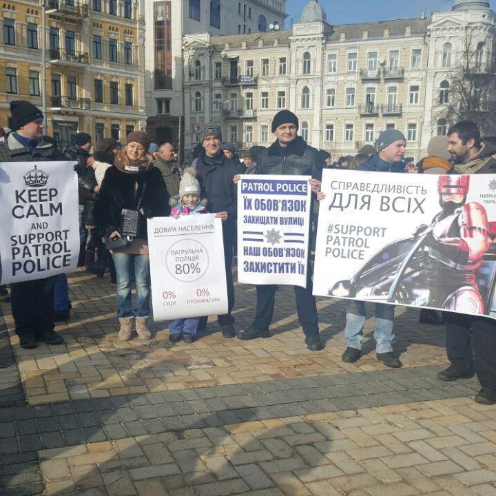 Активісти стали на захист поліції й висловлюють обурення з приводу подальшої долі водія BMW (фото)