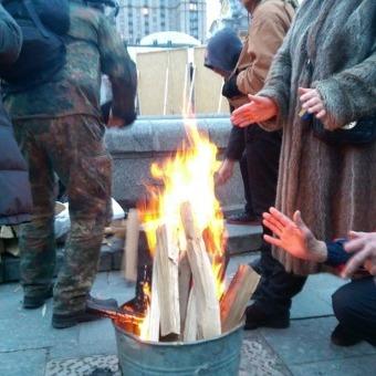 На Майдані зростає кількість наметів