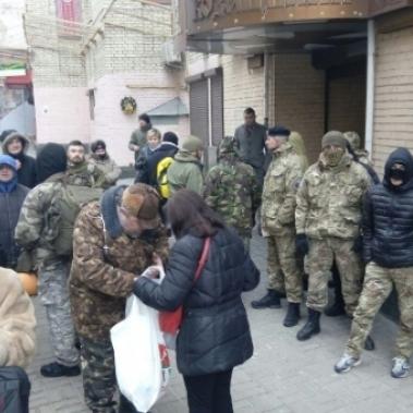 У готелі «Козацький» радикали оприлюднили свої вимоги