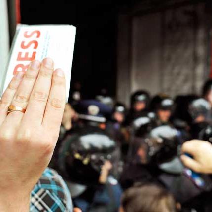 Під час підготовки сюжету в Києві викрали журналіста