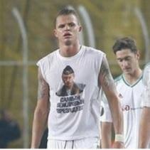 Кадиров хотів  заплатити штраф та купити футболіста, який з'явився у футболці з Путіним