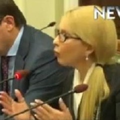 Тимошенко прийшла на зустріч з главами МЗС Німеччини і Франції з новою зачіскою