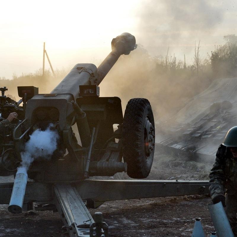 Бойовики більше 80 разів відкривали вогонь, Красногорівку обстріляли з БМП - штаб АТО
