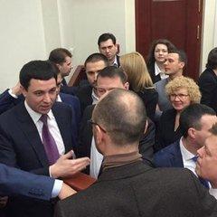 Депутати «Самопомічі» заблокували президію Київради