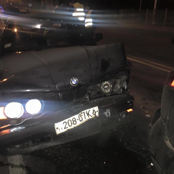 Адвокат Корбана потрапив у ДТП з п'яним водієм (фото)