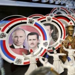 У Сирії почали продавати сувеніри з Путіним (ФОТО)