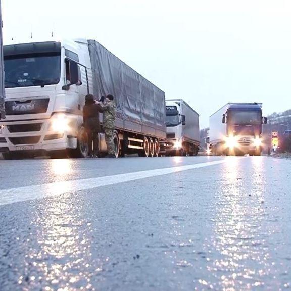 У Мінінфраструктури запевняють, що транзит українських вантажівок територією РФ у 5,5 разів більший ніж транзит російських фур через Україну