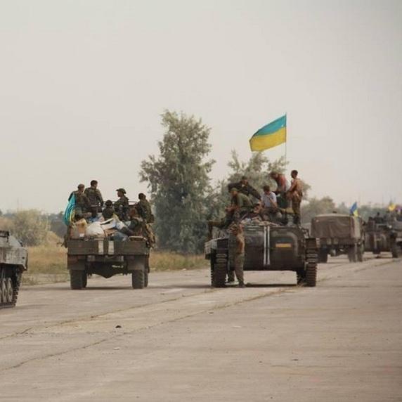 Вогонь по українських позиціях не припиняється