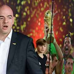 Марадона назвав нового президента ФІФА зрадником