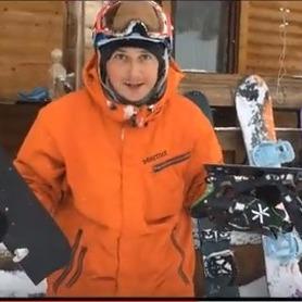 Педан показав, як відпочив на гірськолижному курорті в Грузії (відео)