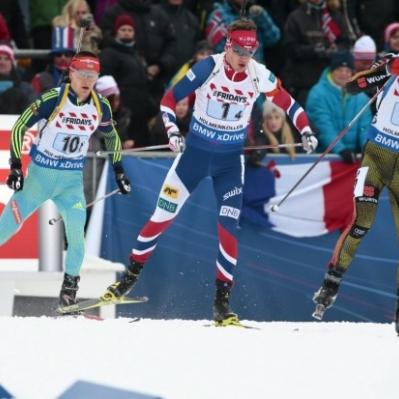 Збірна України з біатлону у змішаній естафеті чемпіонату світу фінішувала за крок від п'єдесталу