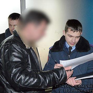 У Луцьку нетверезий екс-учасник комісії з атестації поліцейських відкрив стрілянину (відео)