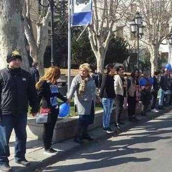 Грузини протестують проти «Газпрому»