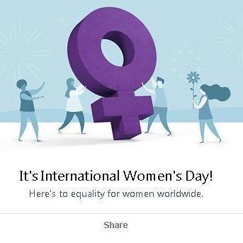 Facebook вирішив привітати жінок з 8 Березня