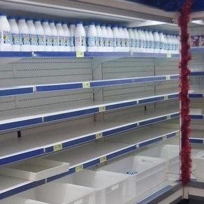 У Росії починаються перебої з молоком