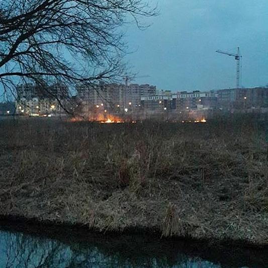 В Ірпіні через невдале святкування 8 березня знову горять торф'яники