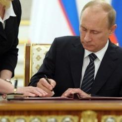 Страх перед Майданом: Путін підписав закон про прирівнювання автопробігів до демонстрацій
