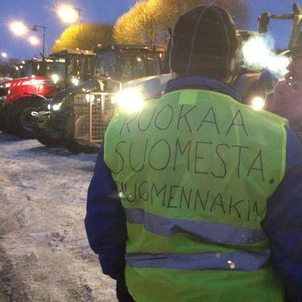 Фінські фермери влаштують тракторний марш-протест на Гельсінкі