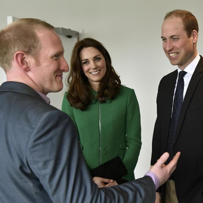 Герцог і герцогиня Кембриджські відвідали людей з розладами психіки (фото)