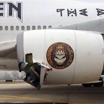 Літак британського гурту потрапив у аварію в аеропорту