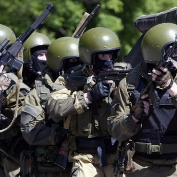 Замість НКВС: до Макіївки для боротьби з дезертирами прибули бійці внутрішніх військ РФ