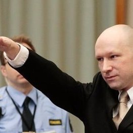 Андерс Брейвік у залі суду привітав усіх присутніх нацистським жестом