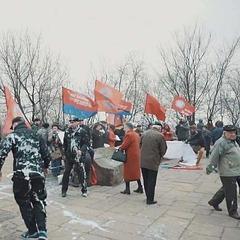 У Києві сталася сутичка між «азовцями» та комуністами (відео)