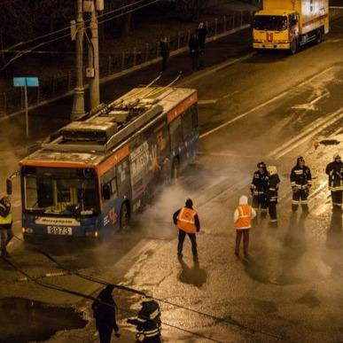 Вулицю поблизу Кремля залило кип'ятком (фото)