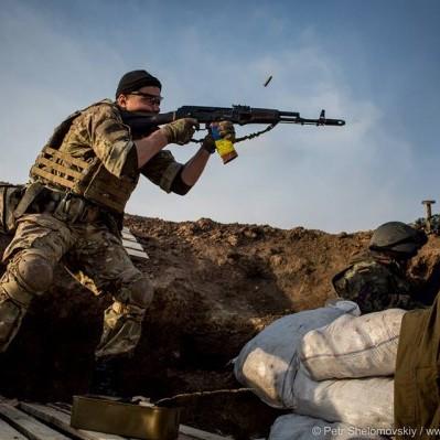 Під Новотроїцьким сили АТО відбили атаку бойовиків