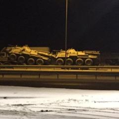 До мережі потрапило фото російської військової техніки під Ростовом