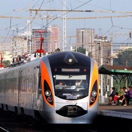 На Київщині евакуйовано 359 пасажирів поїзду Інтерсіті