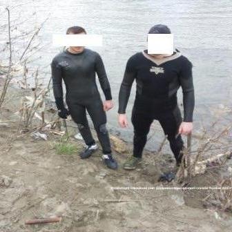 На кордоні із Румунією затримані «водолази» - контрабандисти (фото)