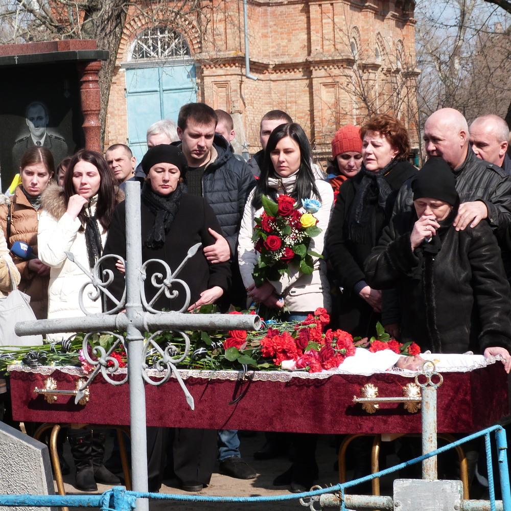 На Дніпропетровщині попрощалися із загиблим під Авдіївкою бійцем АТО (фото)