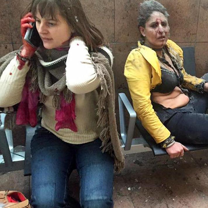 Журналіст, що зробила знімок теракту у Брюсселі, дивом вижила (фото)