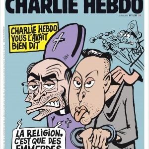 Charlie Hebdo опублікував карикатуру на теракти в Брюсселі (ФОТО)