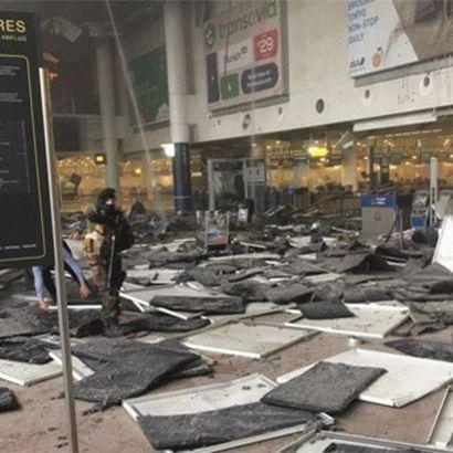 У мережі з'явилося шокуюче відео наслідків вибуху в аеропорту Брюсселя (ВІДЕО)