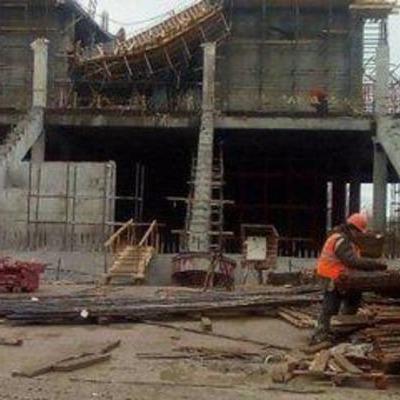 На стадіоні для Чемпіонату світу-2018 у Росії рухнув дах