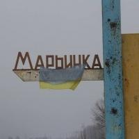 У Мар'їнці бойовики влучили у БК ЗСУ