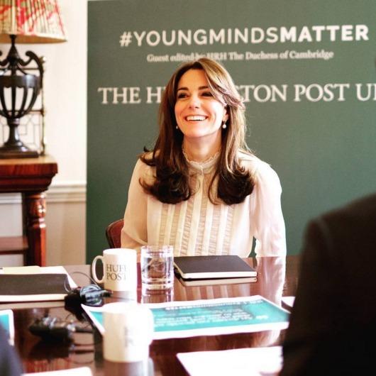Члени королівської сім'ї посміюються над Кейт Міддлтон