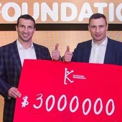 Володимир Кличко зібрав на святкуванні свого ювілею 3 млн доларів