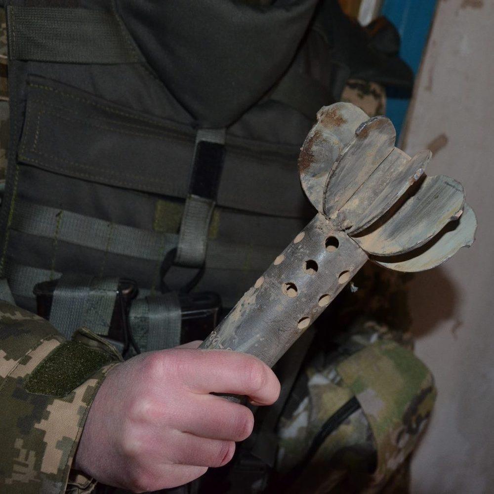 Штаб АТО опублікував фото-докази порушень бойовиками мінських угод поблизу Зайцевого
