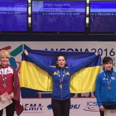 50-річна українська спортсменка встановила світовий рекорд