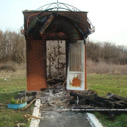 На Кіровоградщині вандали поглумилися над братськими могилами прикордонників (фото)